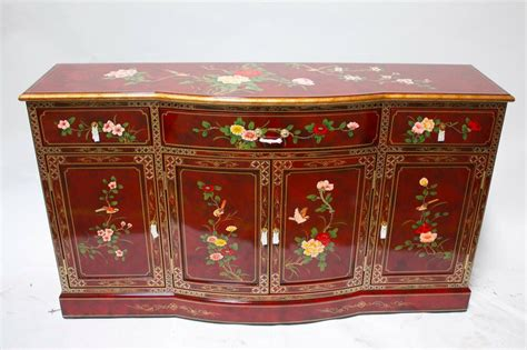 asian credenza furniture buffet credenza 60 quot burgundy