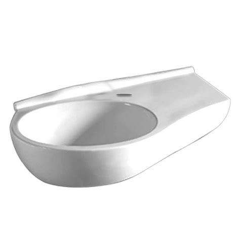 whitehaus kitchen sink whitehaus collection wall mounted bathroom sink 1068