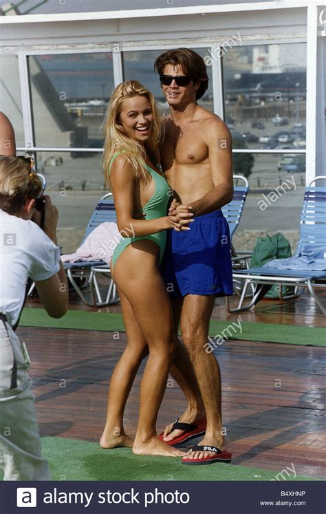 pamela david swimsuit david charvet and pamela anderson the new recruits to