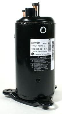 lg qj222kcb mcquay 300044136 compressor rotary 15000 btu 208 230 60 1 important notes