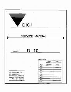 Di 10 Service Manual Pdf Di 10 Service Manual Pdf