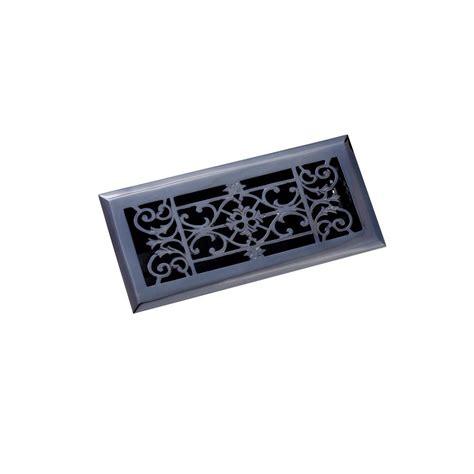 zoroufy 4 in x 10 in decorative floor register antique