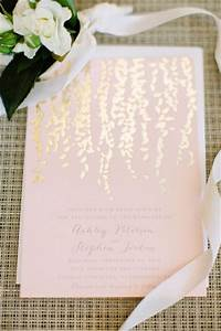 timeless napa valley winery wedding wedding blush color With blush gold wedding invitations uk