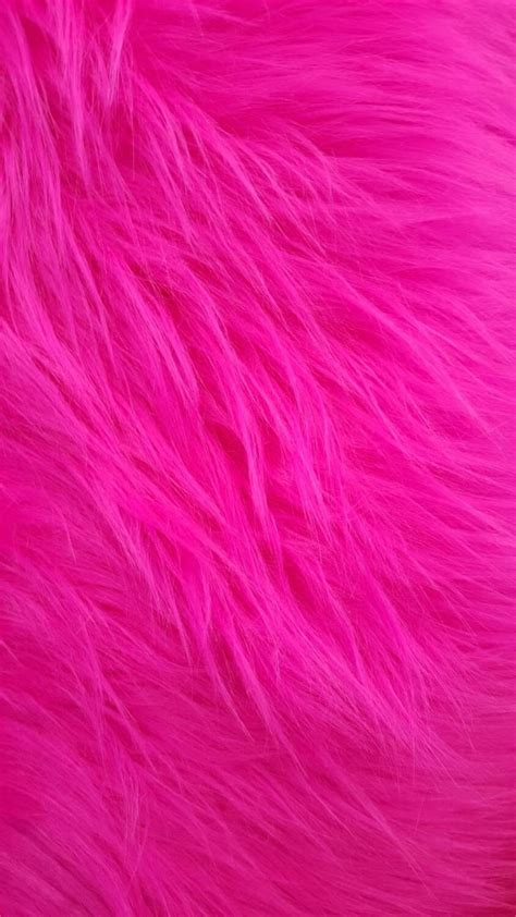 Pink Backgrounds Shaggy Faux Fur Fuchsia Fabric By The Yard Fur