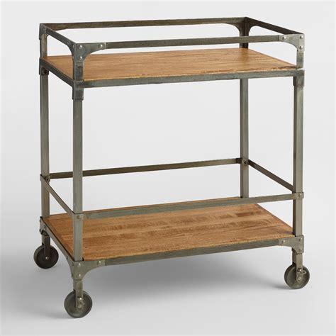 wooden kitchen island aiden bar cart market