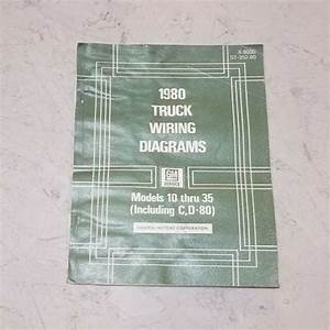 1980 Chevy C10 C20 C30 K10 K20 K30 Truck Electrical Wiring