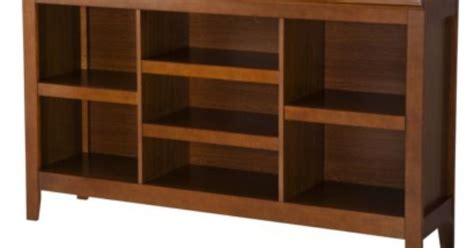 Carson Horizontal Bookcase With Adjustable Shelves