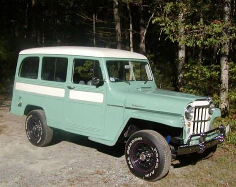 jeep station wagon for sale 1952 willys jeep station wagon bring a trailer