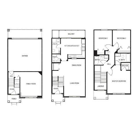 townhouse plans narrow lot townhouse plans narrow lot best free home design
