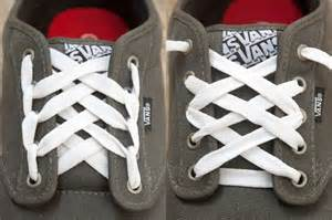 Cool Ways to Lace Up Vans