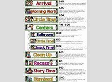 Search Results For Kindergarten Homework Template Our Half Day Preschool Schedule Alyssa Pinterest