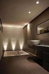 enchanteur luminaire salle de bain lapeyre et indogate With carrelage adhesif salle de bain avec lustre salle de bain led
