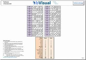How To Play Yahtzee With Visio