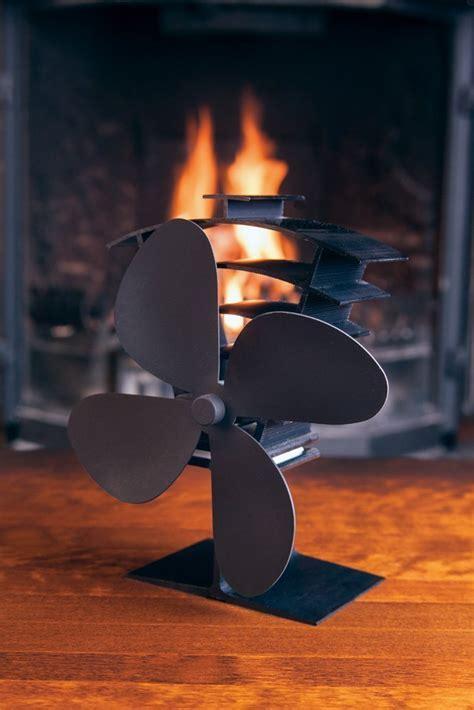 Valiant Premium IV 4 Blade Heat Powered Log Burner & Stove
