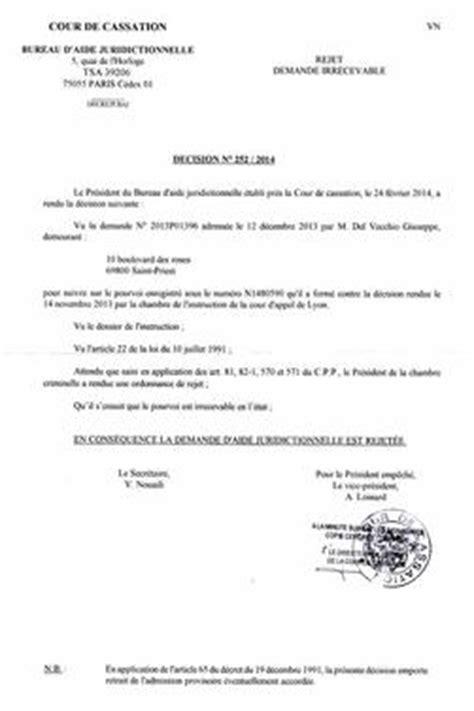 cour de cassation bureau d aide juridictionnelle cour de cassation monsieur le président du bureau d 39 aide