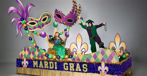 Parade Float Supplies Now by Mardi Gras Complete Theme