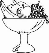 Salad Fruit Bowl Coloring Basket Drawing Fruits Printable Template Getdrawings Sketch Drawings Getcolorings Getcoloringpages Vegetables Paintingvalley sketch template