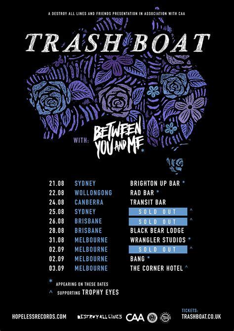 Trash Boat Band Tour by Trash Boat Announce Australian Headline Tour Amnplify