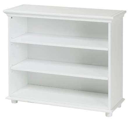 white designer shelf 3 shelf bookcase by maxtrix shown in white