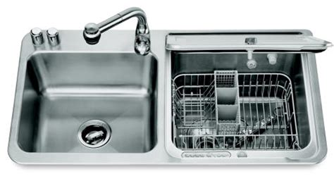 kitchen sinks for kitchenaid in sink vaatwasser in je gootsteen plazilla 8591
