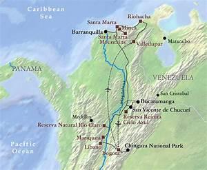 Mapa de Bucaramanga Mapa Físico, Geográfico, Político, turístico y Temático