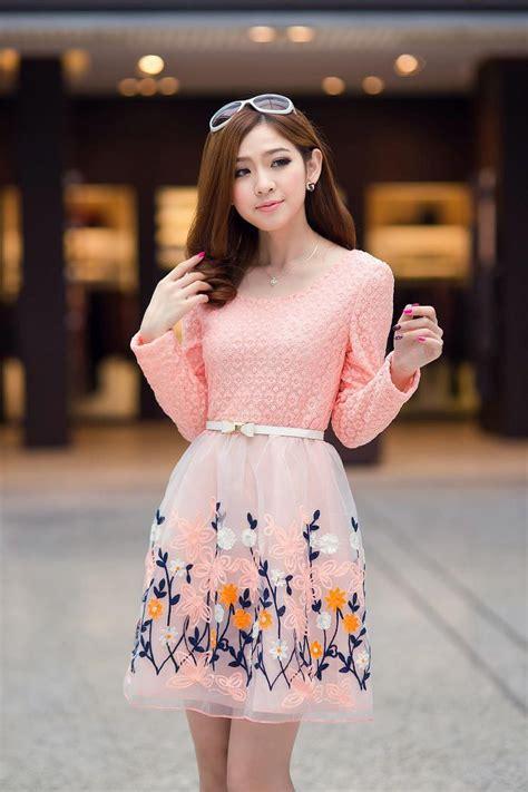 pin oleh cynthia delamour  dress korea   korean