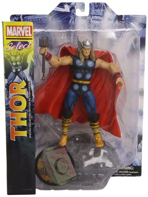 thor classic marvel select action figure marvel thor marvel toys