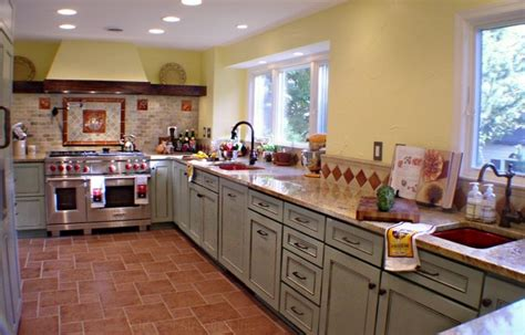 country bathrooms ideas tuscan country kitchen eclectic kitchen by rjk