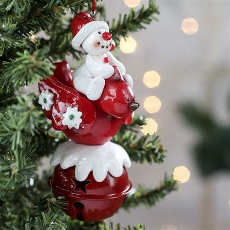 holiday sleigh bell ornament christmas ornaments
