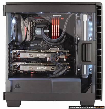 400c Carbide Clear Corsair Gaming Case Tower