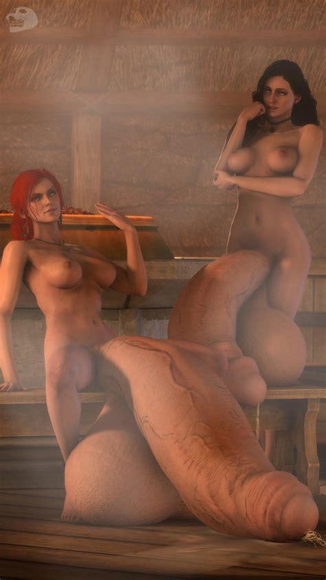 rule 34 3d balls ballsack breasts bulge dangling testicles dickgirl futa only futanari hanging
