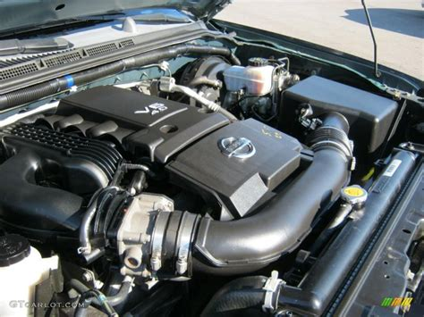 2005 Nissan Pathfinder Engine by 2005 Nissan Pathfinder Xe 4x4 4 0 Liter Dohc 24 Valve V6