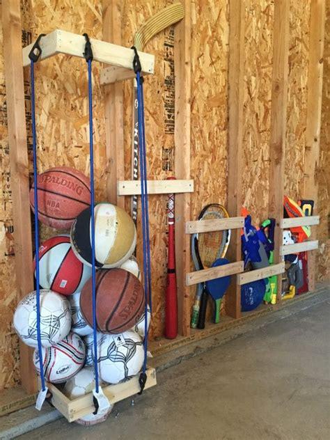 Easy DIY Garage Sports Storage + Giveaway - Pretty ...