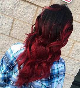 Balayage Braun Rot : 31 best red ombre hair color ideas page 3 of 3 stayglam ~ Frokenaadalensverden.com Haus und Dekorationen