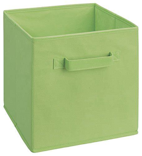 closetmaid fabric drawers closetmaid 5434 cubeicals fabric drawer green import it all