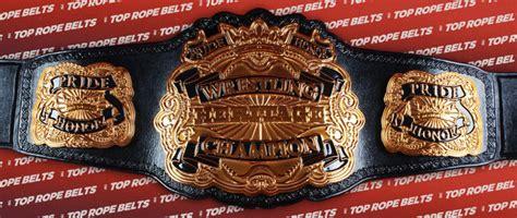 trb heritage wrestling belt top rope belts
