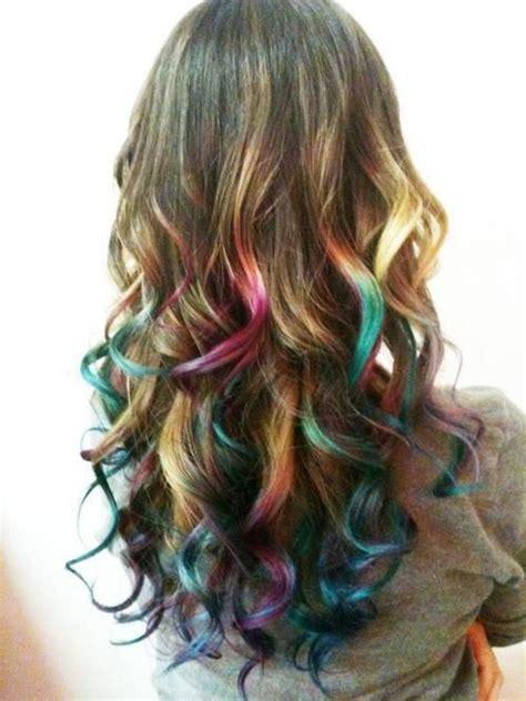 Rainbow Hair Highlights Love It Hair Styles