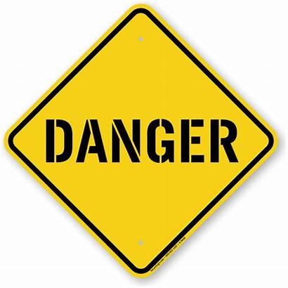 Nebraska Danger Sign Signs Warning Contractors Improvement