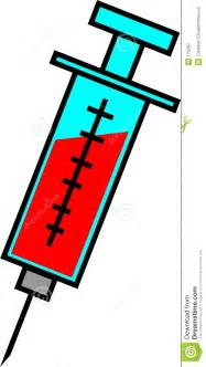 Blood Draw Needle Cartoon