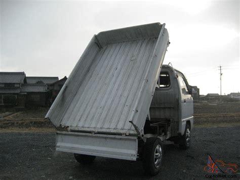 where to dump mattress dump bed suzuki carry 4x4 japanese mini truck road