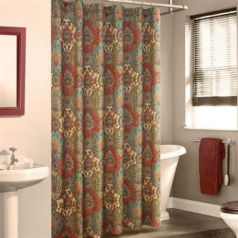 multi color curtains multi color shower curtain aladin