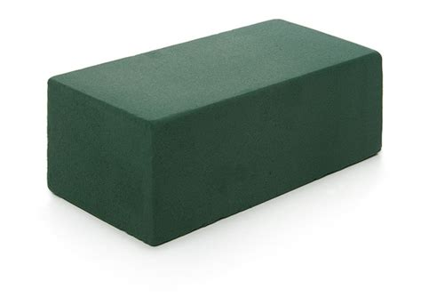 cut  size wet green floral foam cube brick block florish