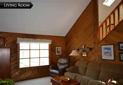 home decorating ideas living room walls need help w diagonal wood paneling in our living room