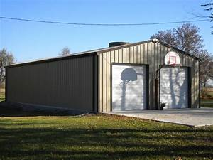 metal shop buildings pictures to pin on pinterest pinsdaddy With backyard shop buildings