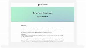 terms and conditions template ecommerce - blog tech terms example 1 shortstack