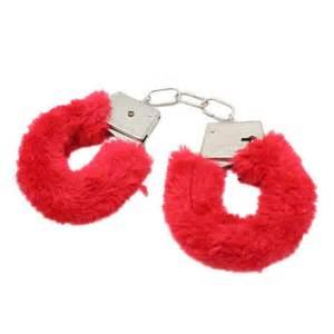 Pink Furry Handcuffs