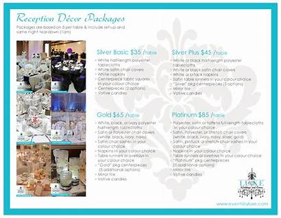 Packages Decorations Decor Reception Events Diy Party