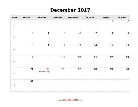2017 calendar template pdf december 2017 calendar pdf weekly calendar template