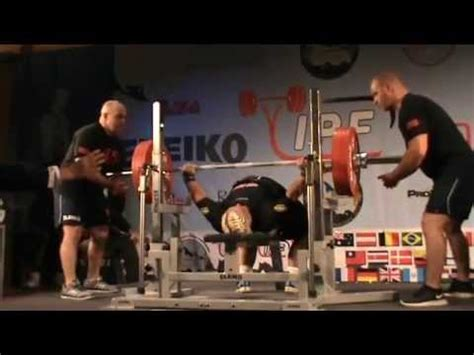 Bench Press Facts by Bench Press 227kg In Ipf History World