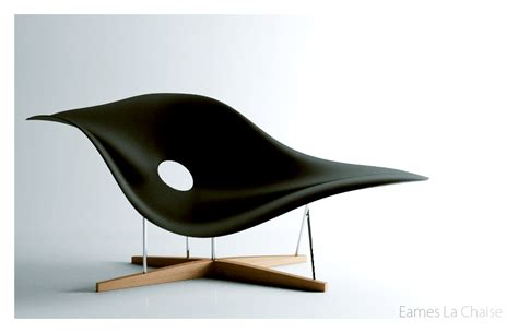 chaise design eames eames la chaise by apixx on deviantart